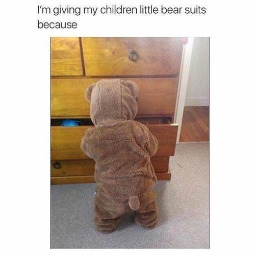 Product - I'm giving my children little bear suits because