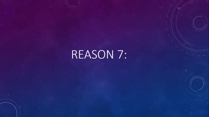 Violet - REASON 7: