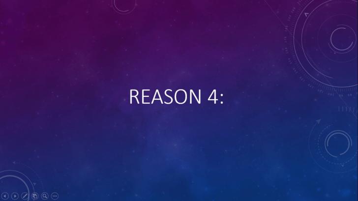 Violet - ez oft REASON 4: