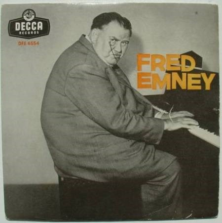Poster - DECCA RECORDS OFE 6554 FRED EMNEY