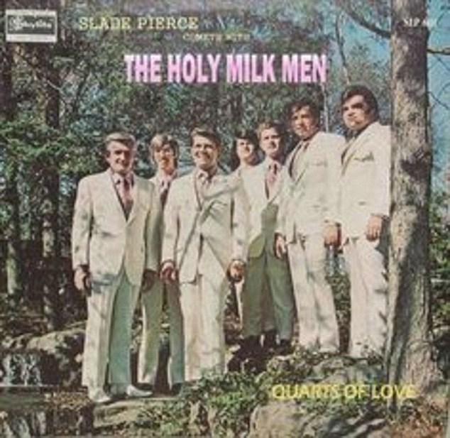 Album cover - SLADR PIERCE THE HOLY MILK MEN QUARIS OF LOVE
