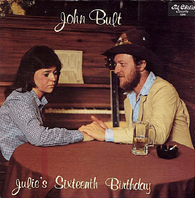 Album cover - Chelio arts John Bull Julie's Siuteenth Birthday