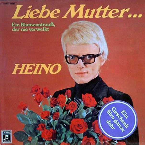 Album cover - Liebe Mutter... Ein Blumenstrauß, der nie verwelkt HEINO EMI Ein Geschenk fürs ganze Jahr