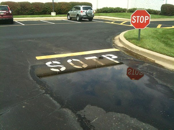 Road - STOP OTE