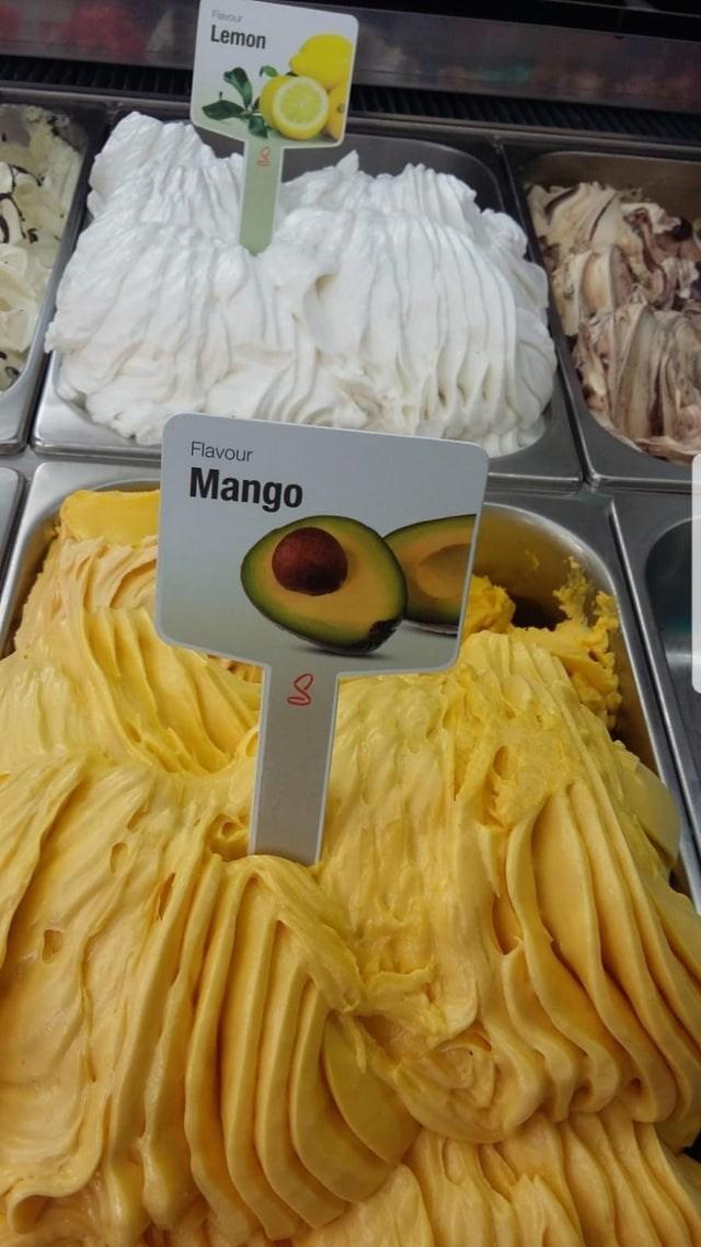 Food - Favour Lemon Flavour Mango
