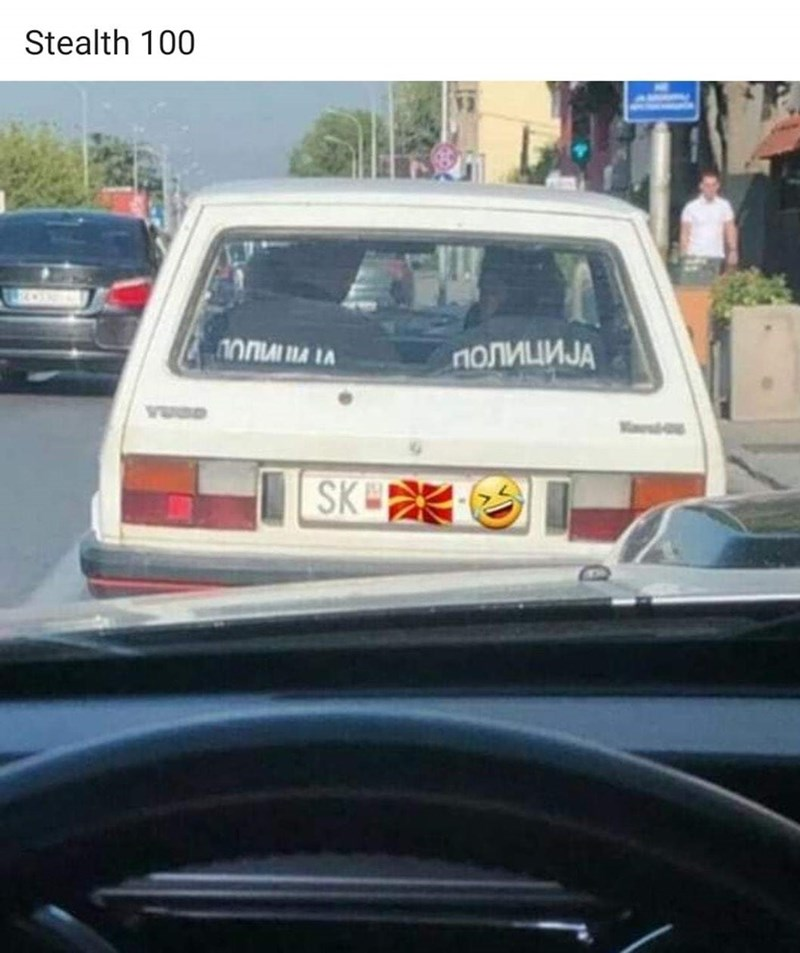 Land vehicle - Stealth 100 ПОЛИЦИЈА SK