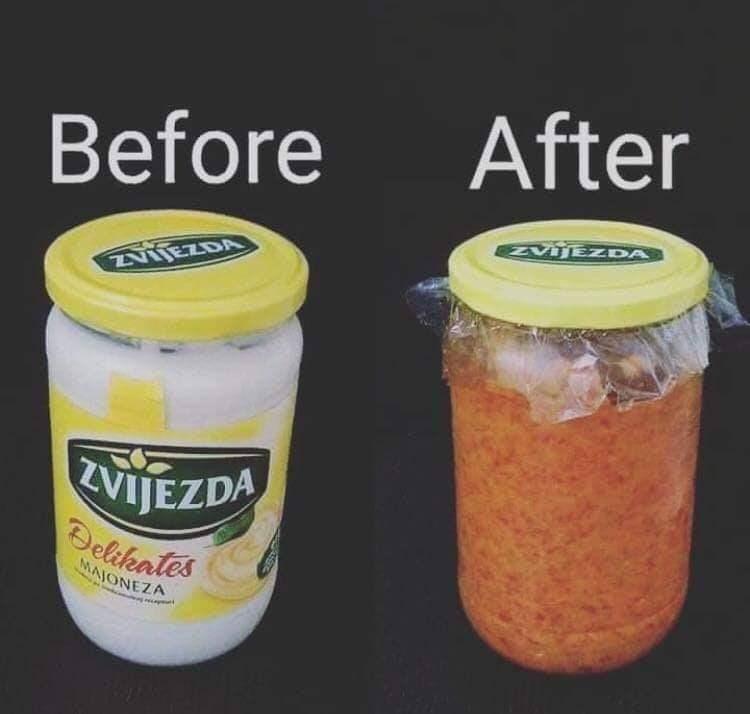 Food - After Before IZvjE DA ZNIEZDA ZVIJEZDA Belikates MAJONEZA