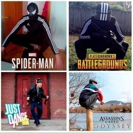 Batman - NAREL PLAYERUNKNOWN'S SPIDER-MAN BATTLEGROUNDS JUST 9ANCE ASSASSINS CREED 2018 ODYSSEY