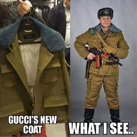 Military uniform - GUCCI'S NEW COAT WHAT I SEE..