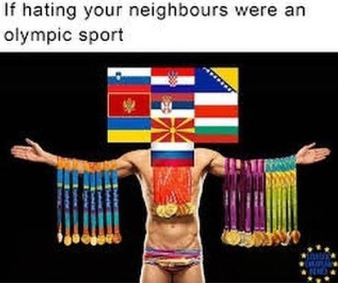 Joint - If hating your neighbours were an olympic sport