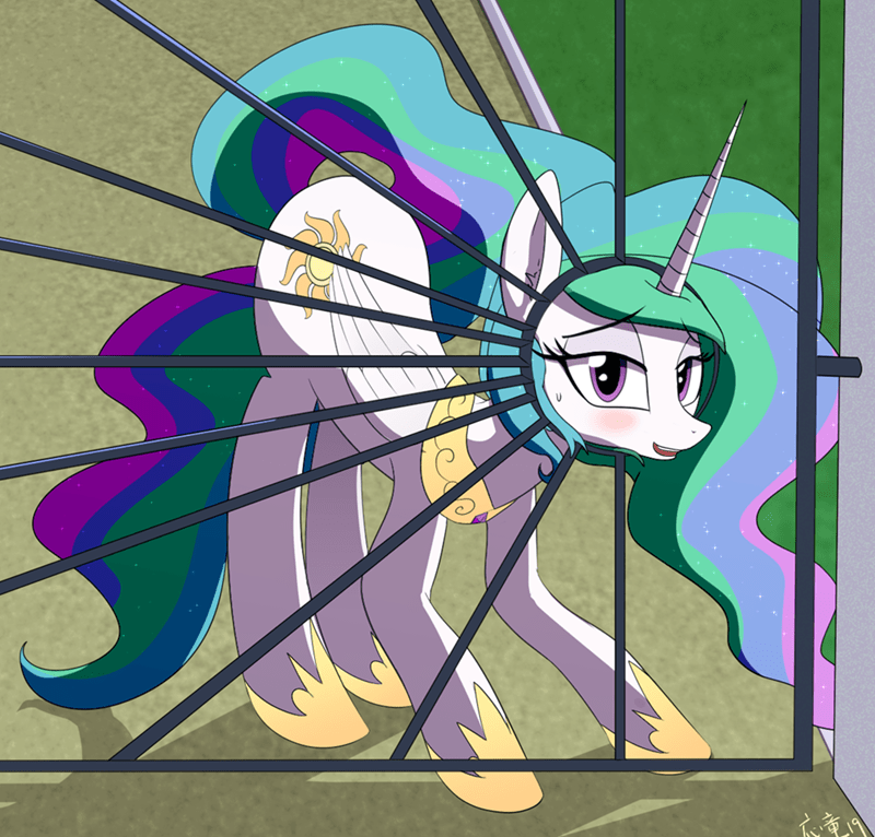 ponify princess celestia acting like animals yinglong fujun - 9357378816