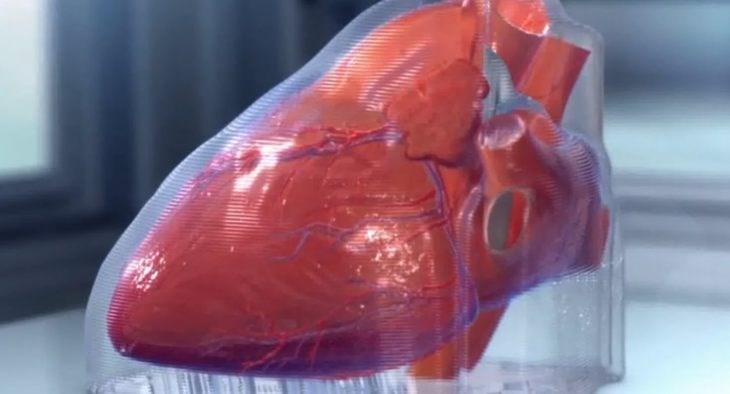 digital image of heart