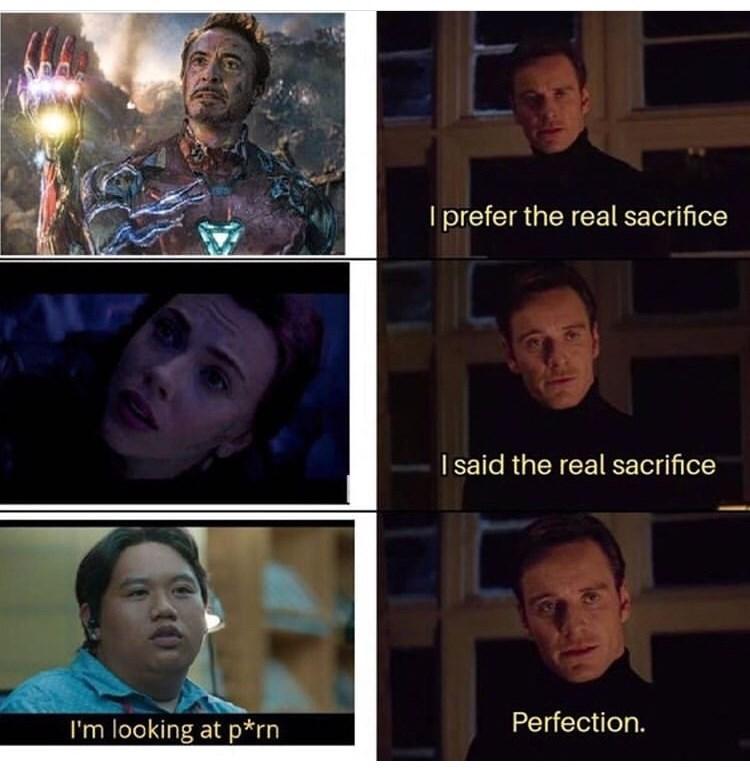 Face - Iprefer the real sacrifice I said the real sacrifice Perfection I'm looking at p*rn