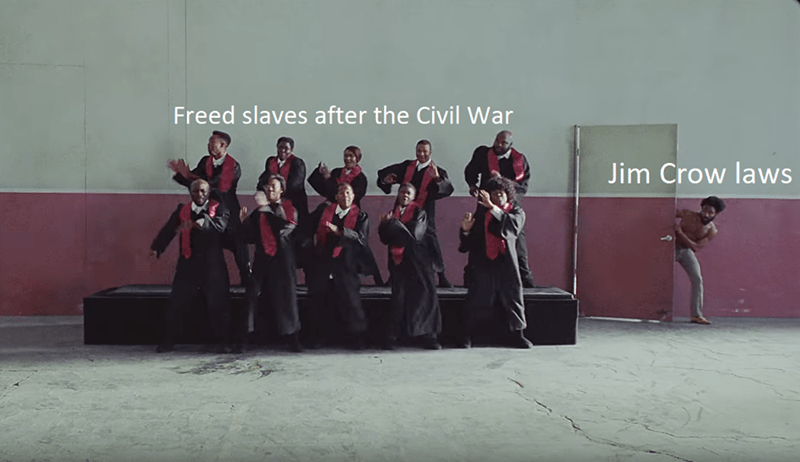 Social group - Freed slaves after the Civil War Jim Crow laws