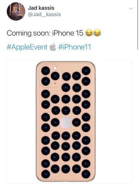 Font - Jad kassis @Jad_kassis Coming soon: iPhone 15 #AppleEvent #iPhone11