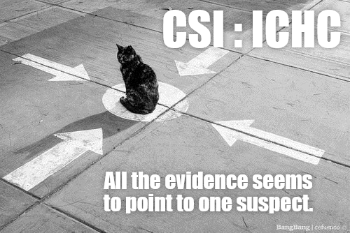 Cat - CSI: ICHC All the evidence seems to point to one suspect. BangBang lcefuencoo