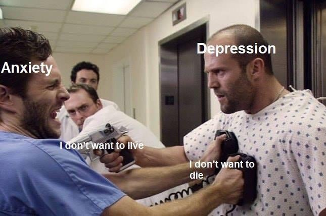 Arm - Depression Anxiety Tdon'twant to live I don't want to die
