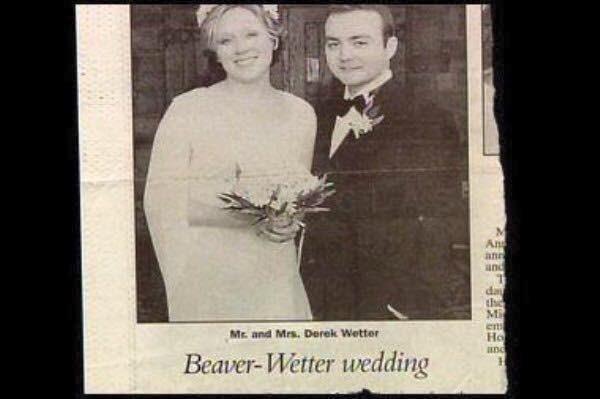 Photograph - An ann and the Mi ents Ho anC Mr. and Mrs. Derek Wetter Beaver-Wetter wedding