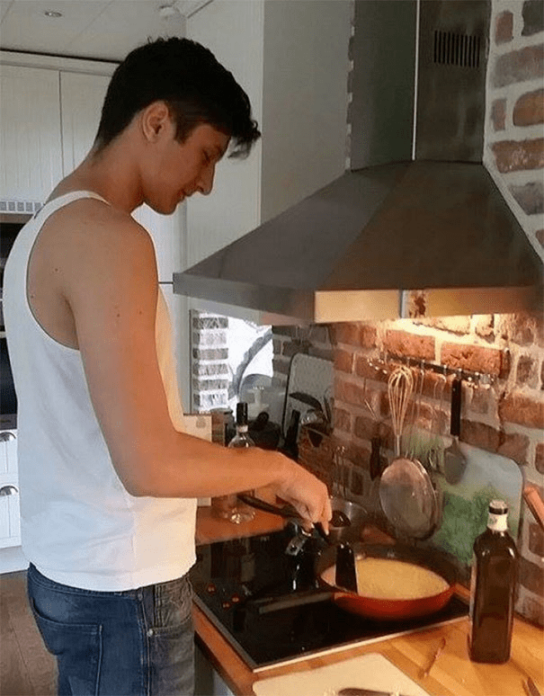 tall people - Cooking