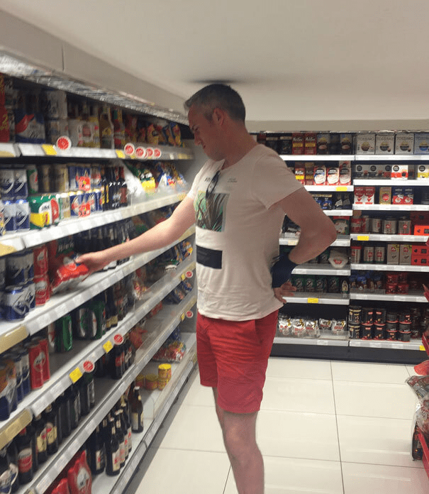 tall people - Supermarket - SOSNGO oMON