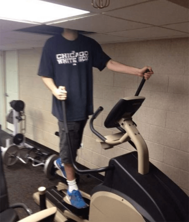 tall people - Exercise machine - CHICAGO WHITE SO
