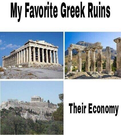 Landmark - My Favorite Greek Ruins Their Economy