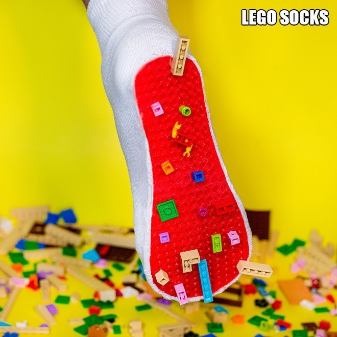 Christmas stocking - LEGO SOCKS