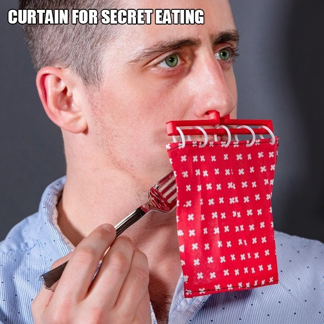 Nose - CURTAIN FOR SECRET EATING * x x ** ** * ***