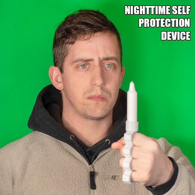 Finger - NIGHTTIME SELF PROTECTION DEVICE