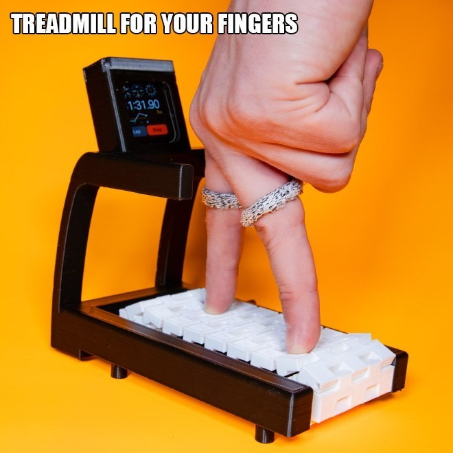 Hand - TREADMILL FOR YOUR FINGERS 131.90