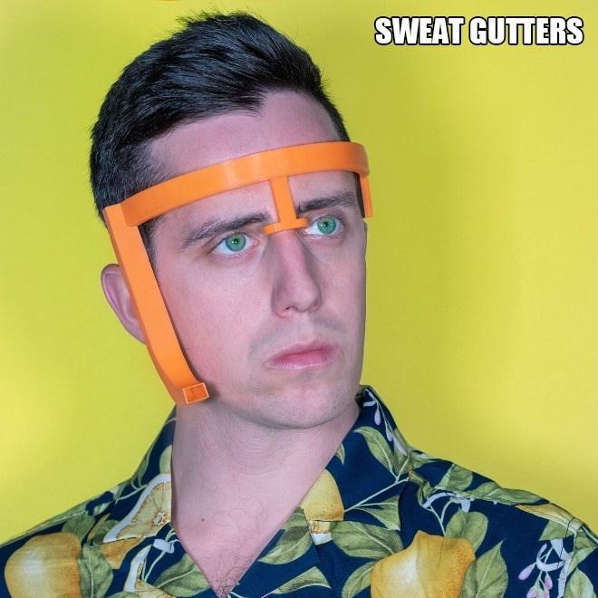 Face - SWEAT GUTTERS