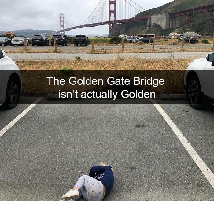Vehicle - The Golden Gate Bridge isn't actually Golden 03