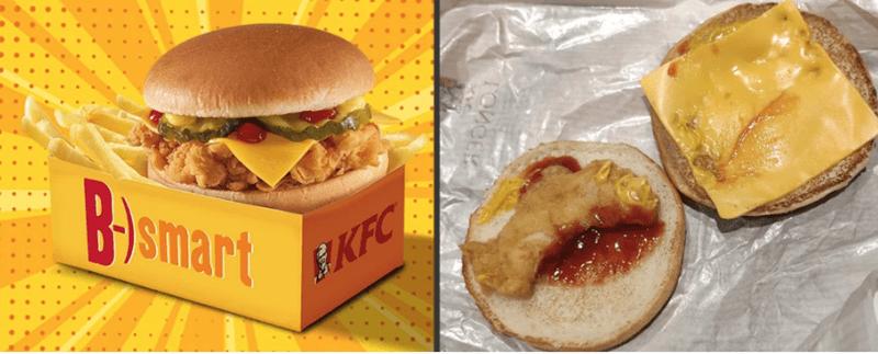 expectation vs reality - Dish - B&Smart EKFC