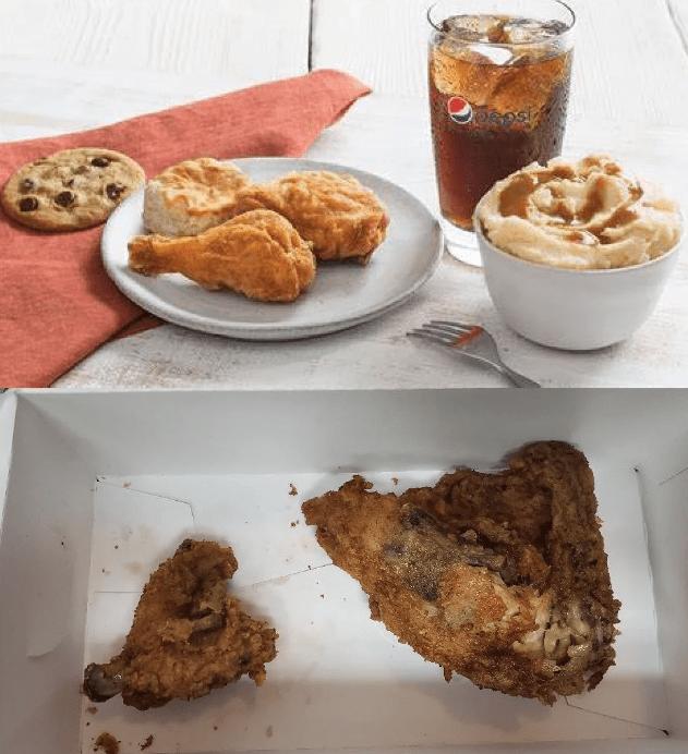 expectation vs reality - Dish