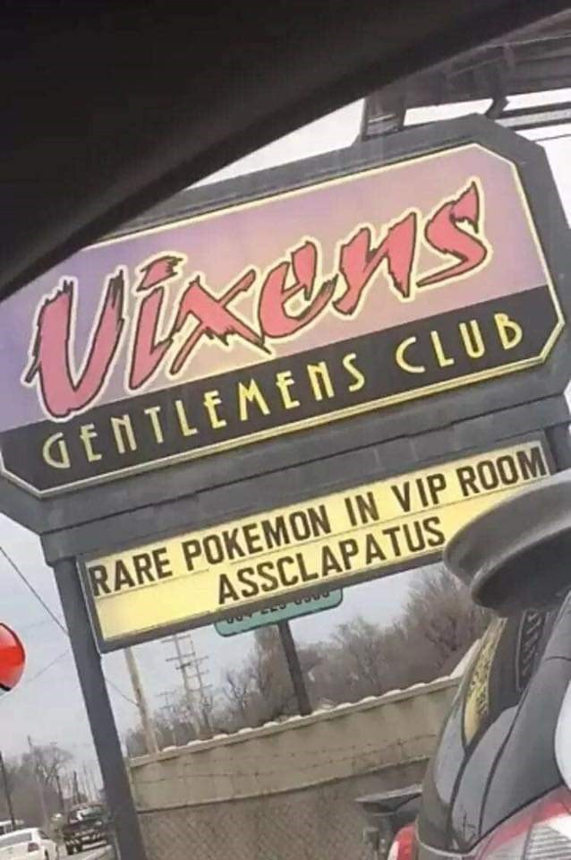 Font - Mxens GENTLEMENS CLUB RARE POKEMON IN VIP ROOM ASSCLAPATUS