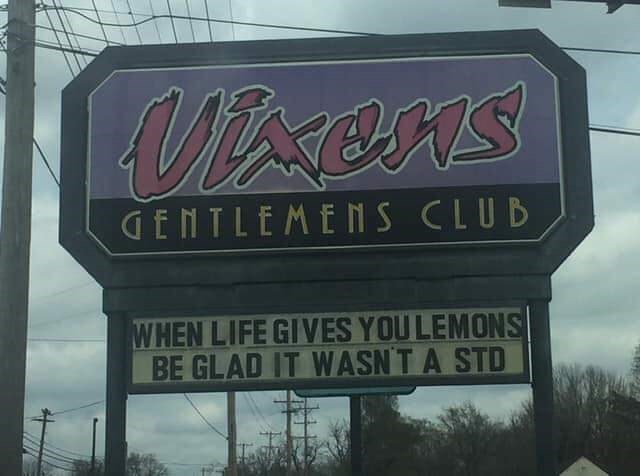 Font - Mxens GENTLEMENS CLUB WHEN LIFE GIVES YOULEMONS BE GLAD IT WASN'T A STD