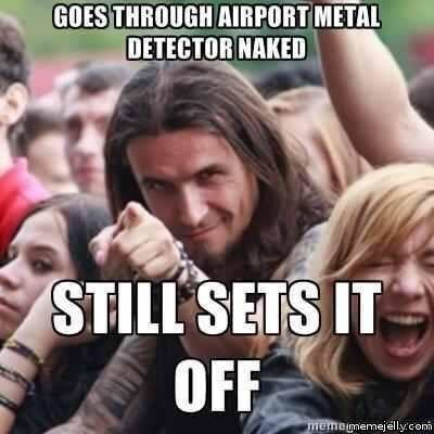 People - GOES THROUGH AIRPORT METAL DETECTOR NAKED STILL SETS IT OFF memetmemejelly.conm