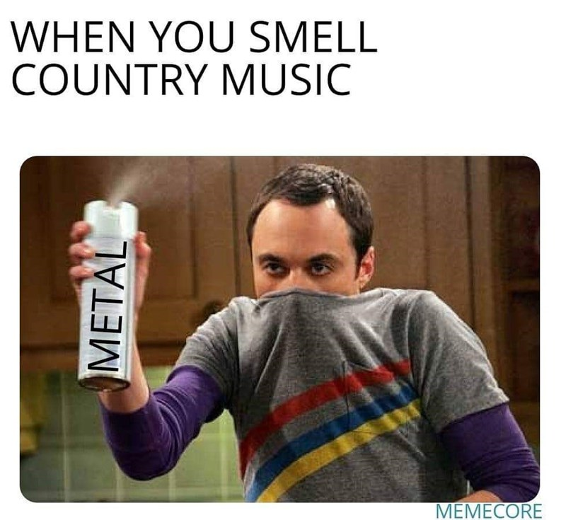 Product - WHEN YOU SMELL COUNTRY MUSIC METAL