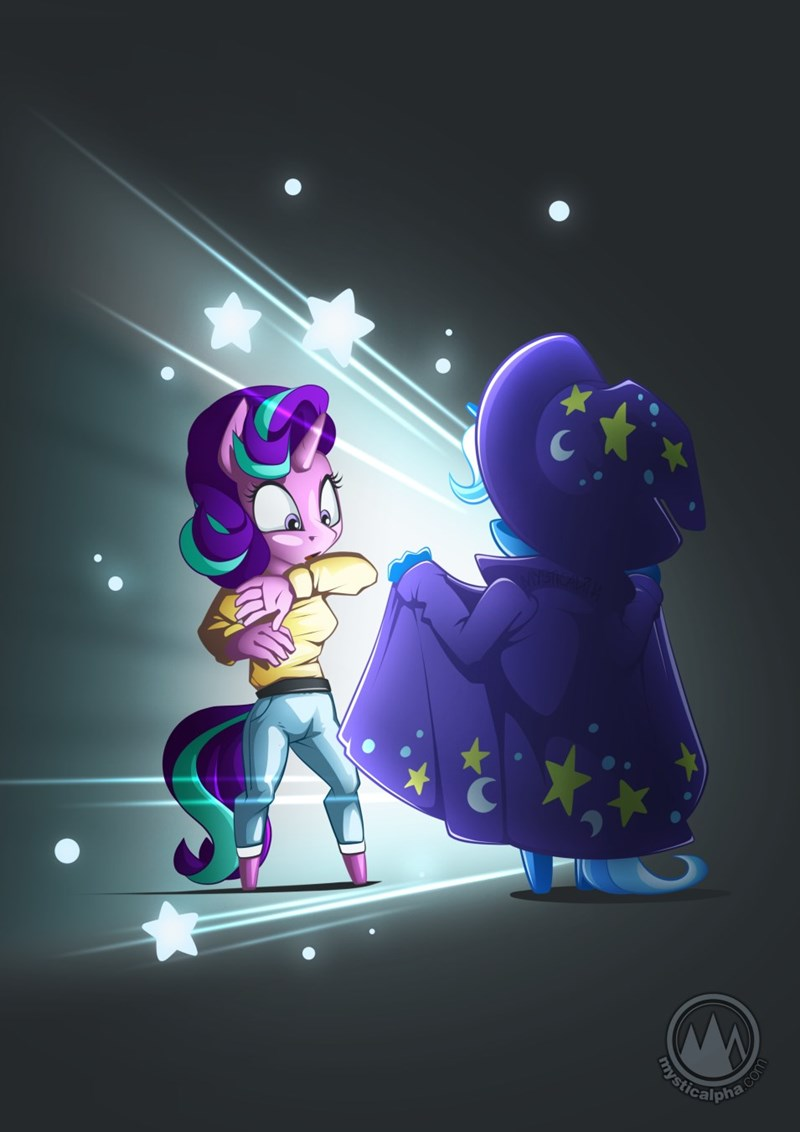 the great and powerful trixie starlight glimmer anthropomorphic mystic alpha - 9359636224