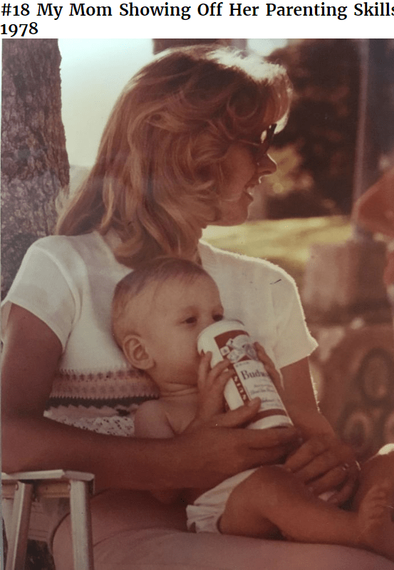 Product - #18 My Mom Showing Off Her Parenting Skills 1978 Budy