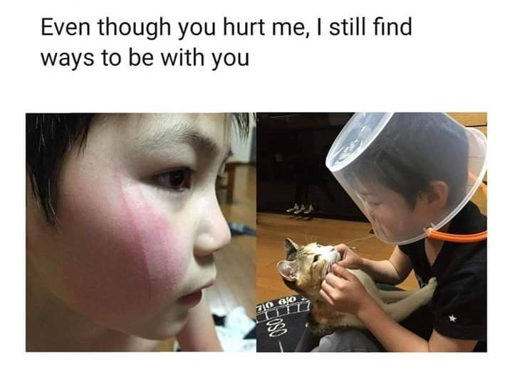 Face - Even though you hurt me, I still find ways to be with you 10 6 0