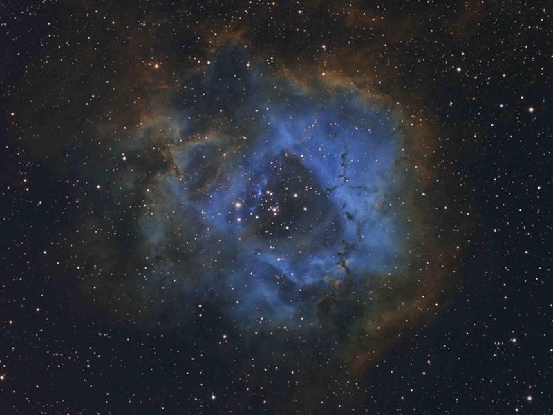 photo blue galaxy