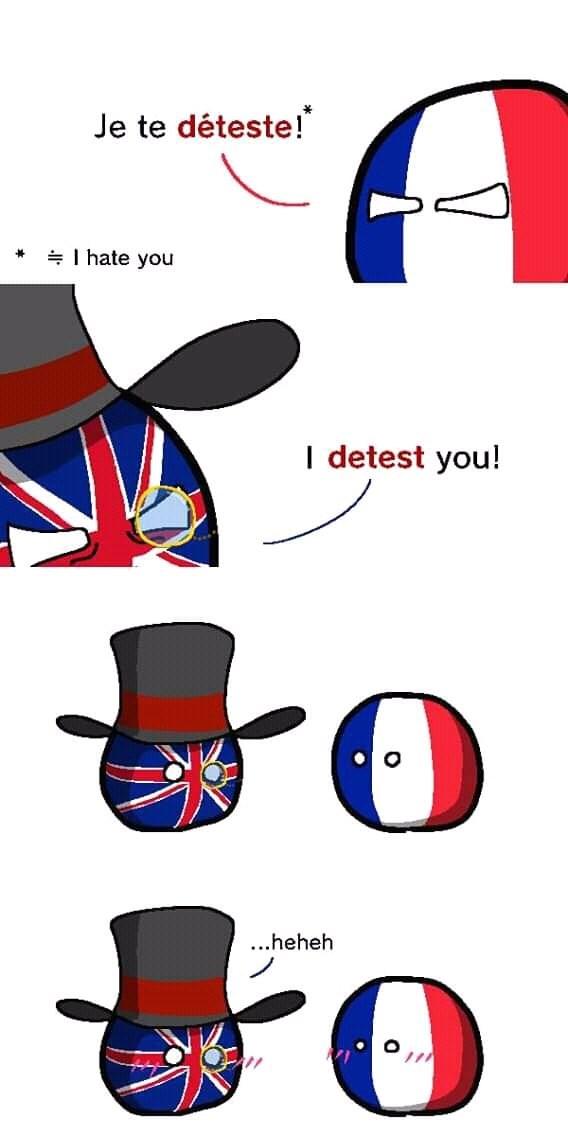 Clip art - Je te déteste! I hate you I detest you! ...heheh