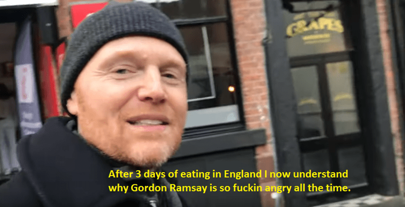 Face - SAFES After 3 days of eating in England I now understand why Gordon Ramsay is so fuckin angry all the time.