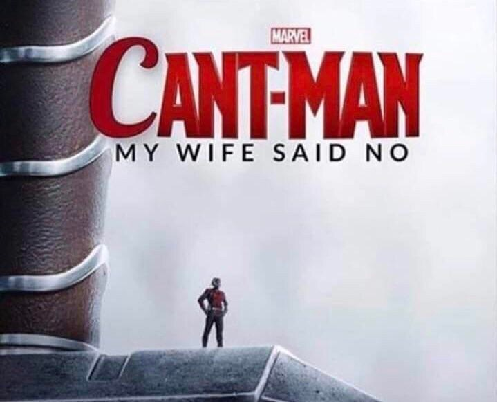 Action-adventure game - MARVEL CANTMAN MY WIFE SAID NO