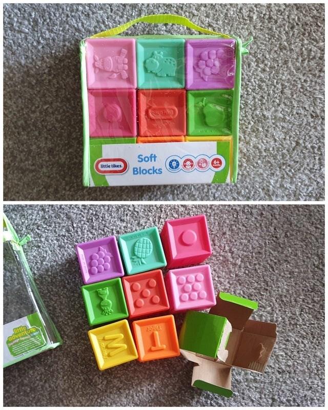Toy - Soft Blocks little tikes tle adventure 20011 D M Motice
