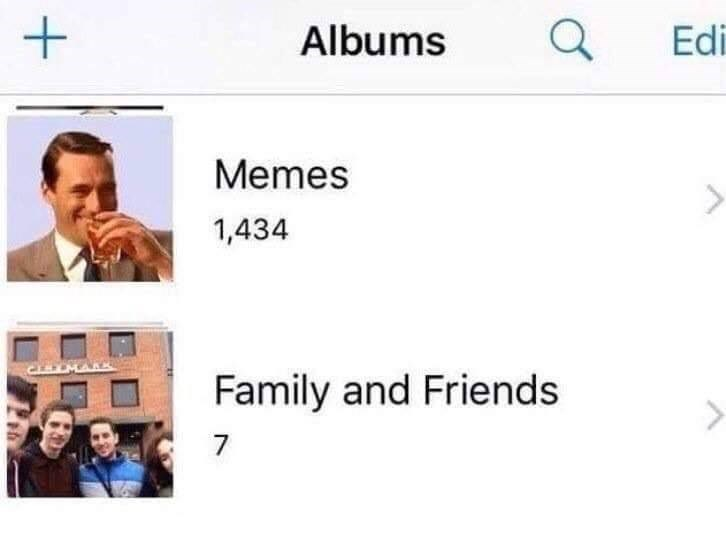 Face - Albums Edi Memes 1,434 Family and Friends 7