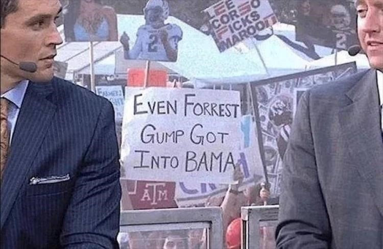 News - LEE CORS FICKS MAROOTI EVEN FORREST GUMP GOT INTO BAMA