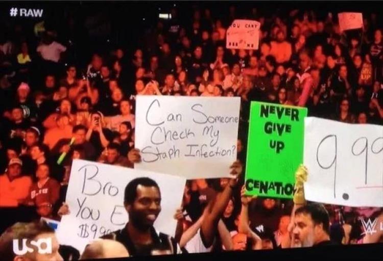 People - #RAW Can Sonen Cheeh My Staph Infeeton? CENATIO NEVER GIVE up Bro You E B9 Usa