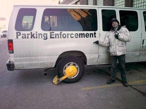 Motor vehicle - Parking Enforcement